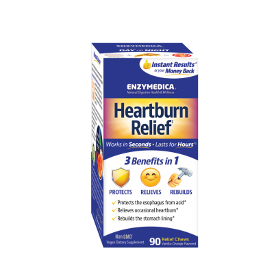 Heartburn Relief Chewable 90's