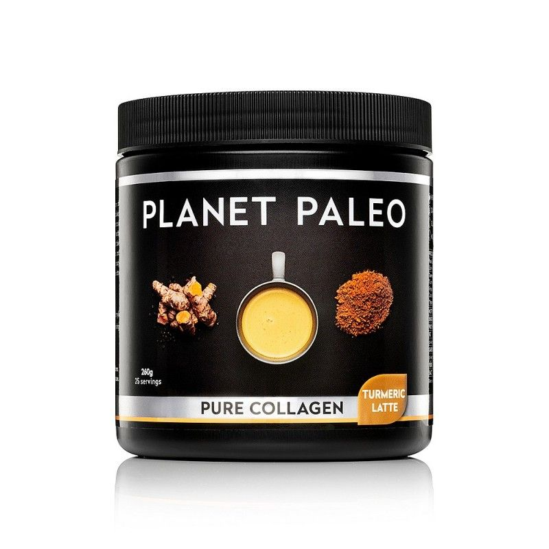 Pure Collagen Turmeric Latte - kurkuma latté