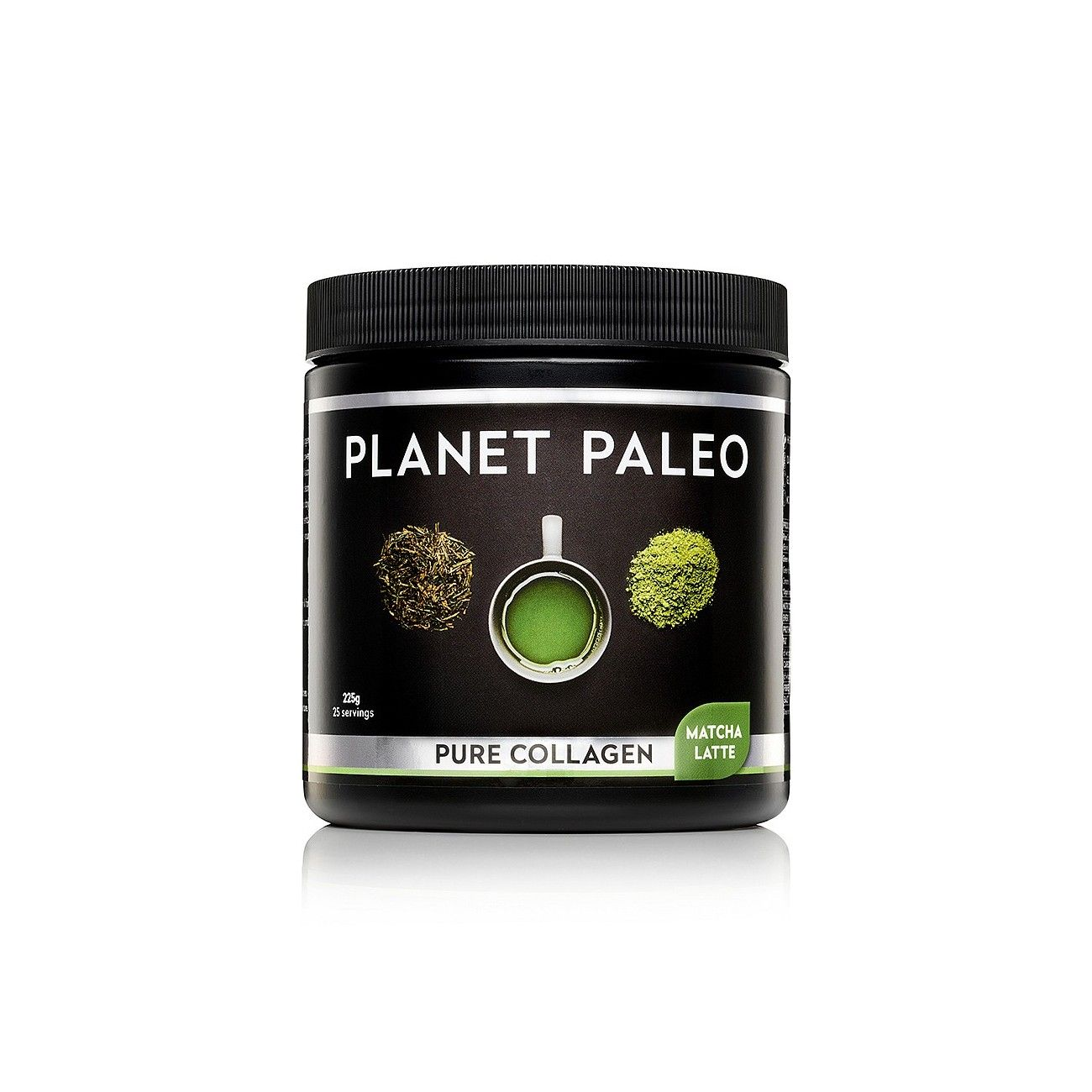 PLANET PALEO PURE COLLAGEN MATCHA LATTE