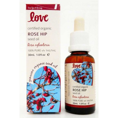 Free spirit love oils - rose hip seed oil - 30ml