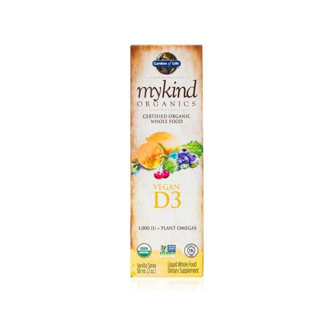 Garden of Life vitamín D3 ve spreji 57 ml