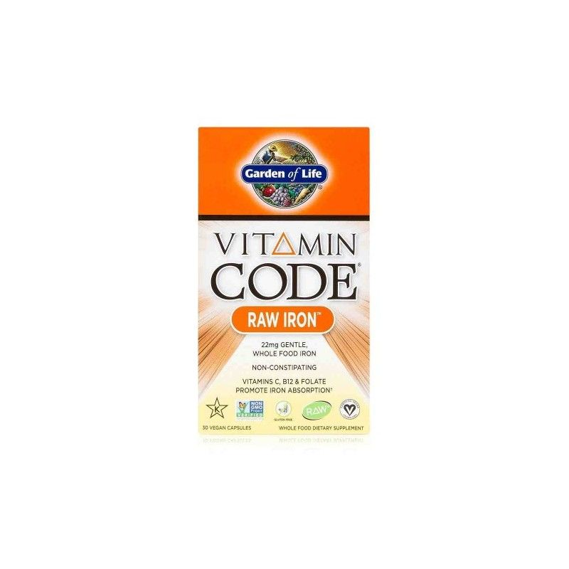 Vitamin Code - RAW Železo